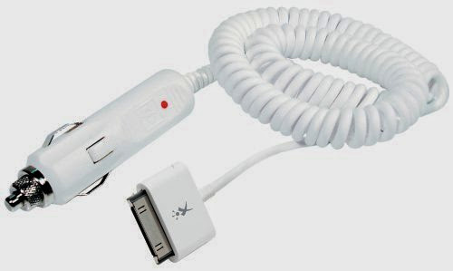 XtremeMac Car Charger - 30 pin dock connector
