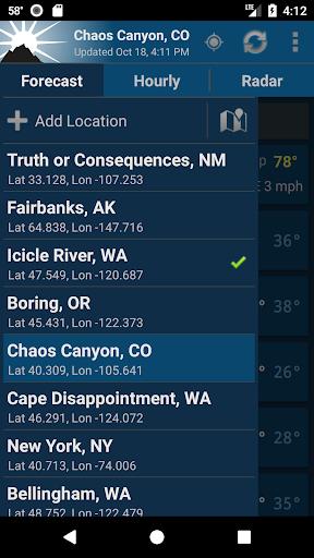 NOAA Weather Unofficial screenshot 6