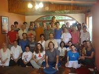 Grupo que participou do retiro dos dias 04 e 05/02/2012