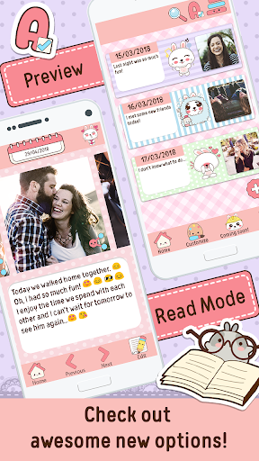 Niki: Cute Diary App 3.1.1 screenshots 2