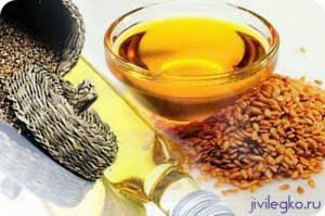 кунжутное масло для очищения