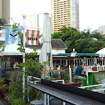 beautiful Canal Cafe since 1918 in Chiyoda, Tokyo, Japan
