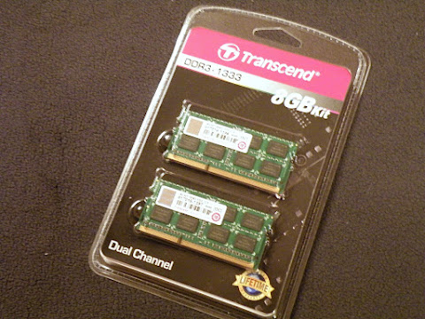 Transcend JetRam PC3-10600(DDR3-1333) 8GB KIT(4GB × 2) JM1333KSN-8GK