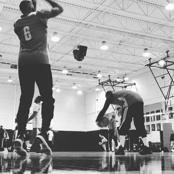 LeBron James Wears Nike LeBron 14 in Practice and Now We Get a Peek