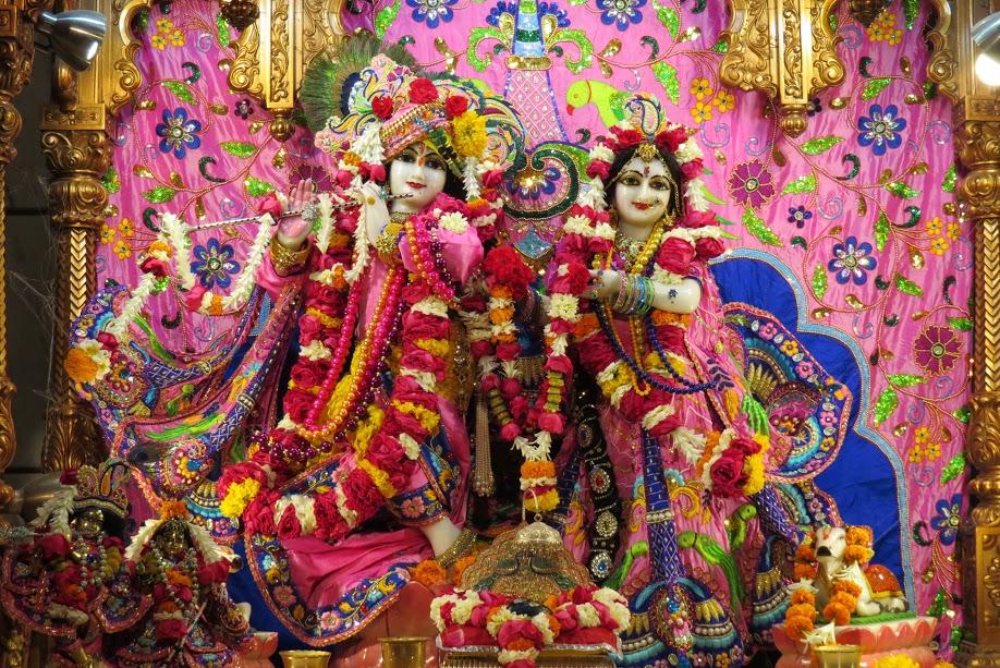 ISKCON Vallabh vidhyanagar Deity Darshan 19 jan 2017 (1)