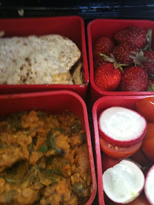 Lunchbox of food