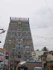 Vaitheeswaran Koil main gopuram.