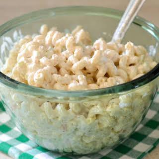 Sour Cream Cheddar Pasta Salad.