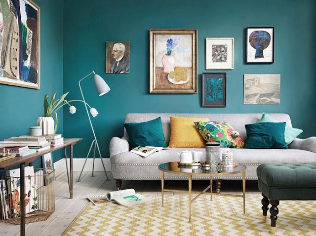 Retr and design interni a tema il giallo mostarda for Color ottanio