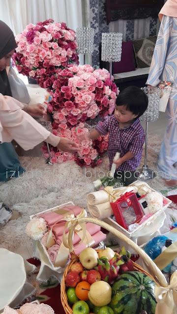 DIY Dulang Hantaran Kahwin Tunang