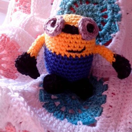 Minions Gru amigurumi patrón libre - Minion Despicable Me amigurumi free pattern