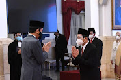 Presiden Jokowi Lantik Ketua Harian MOI, Jadi Dewan Pengawas BPJS Kesehatan