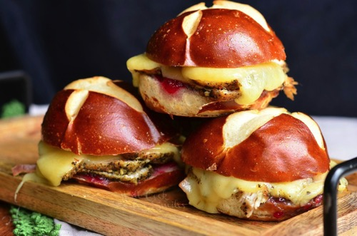 Cranberry Asiago Turkey Sliders 3 from willcookforsmiles com