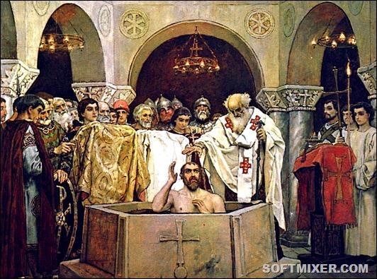 Крещение-князя-Владимира