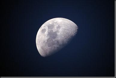calculamos el diámetro de la luna