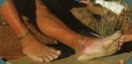 Cody Lundin's Feet