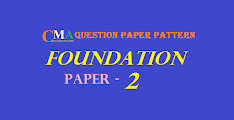 CMA Foundation: Fundamentals of Accounting Question Paper Pattern and Important Topics