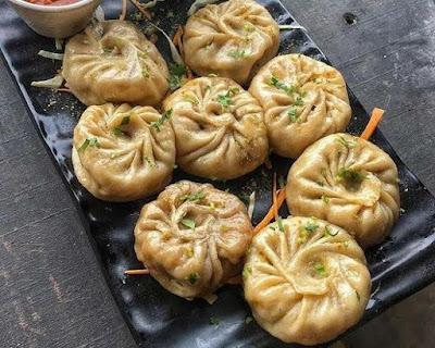 Cafe delhi , food , momos , love
