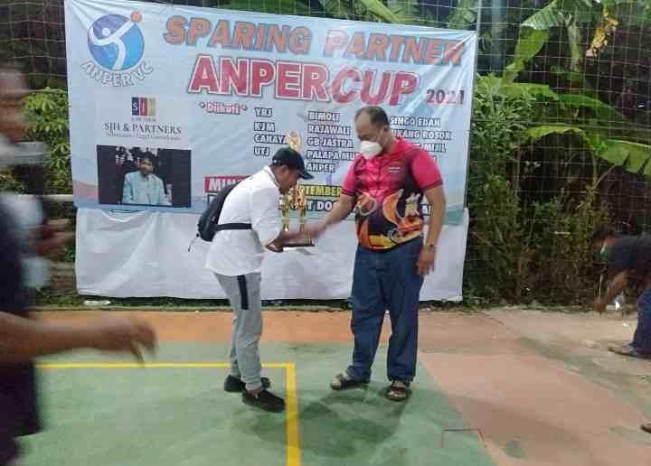 Ketua PBVSI Jak-bar, Abdul Azis Muslim SH, Gelar Sparing Turnamen ANPER CUP volli ball 2021...