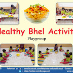 Cooking Activity - Healthy Bhel Making by Playgroup Section, (2018-19), Witty World, Goregaon East