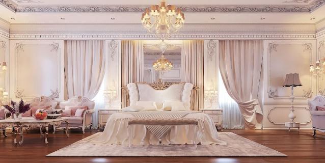 Mẫu phòng ngủ tân cổ điển thanh lịch, tinh tế