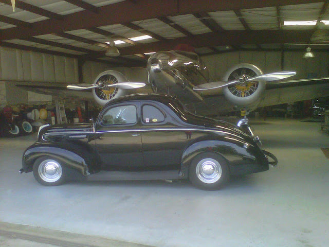 My old 39 Ford coupe as it looks today with latest owner ..