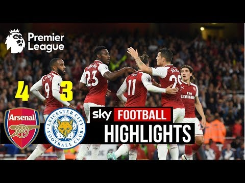 [Video] Arsenal vs Leicester City 4-3 – Highlights & Goals (Premier League)