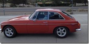 Old MG Hatchback