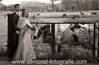 Bruidsreportage (Trouwfotograaf) - Foto van bruidspaar - 186