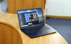 Laptop 14 inch viền siêu mỏng của Asus