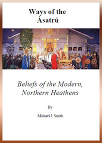 Cover of Michael Smith's Book Ways of the Asatru