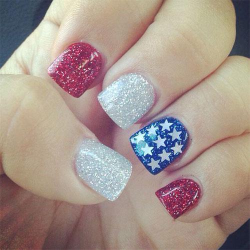 15 American 4th Of July Acrylic Nail Art Ideas Fashion 2d