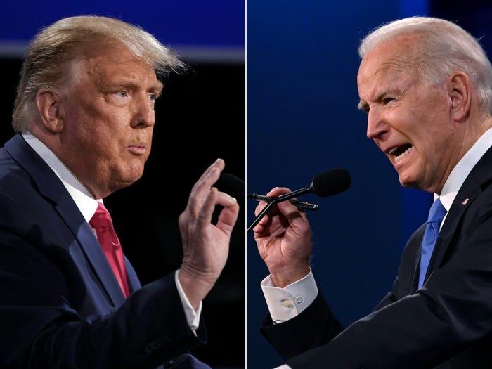 Donald Trump says he'd beat Joe Biden in a boxing match