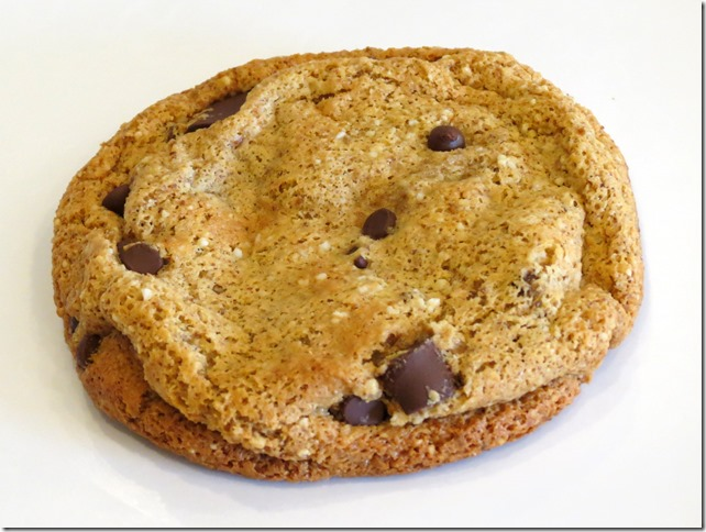 My Favorite Grain Free Chocolate Chip Cookie