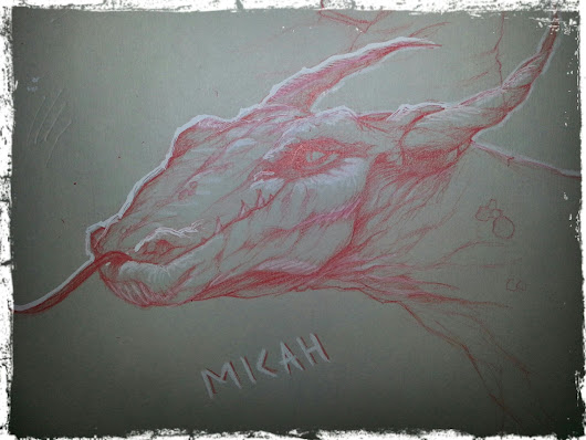Dragon draw night sketch