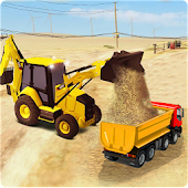 Heavy Construction Mega Road Builder Android APK Download Free By PinPrick Gamers
