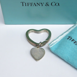 Tiffany & Co. Heart Key Ring