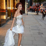 WWW.ENTSIMAGES.COM -   Lydia Lucy  arriving   at         Wear it for Autism - charity catwalk show at Millennium Hotel London Knightsbridge, London October 6th 2014Charity fashion show to celebrate families and individuals affected by autism.                                               Photo Mobis Photos/OIC 0203 174 1069