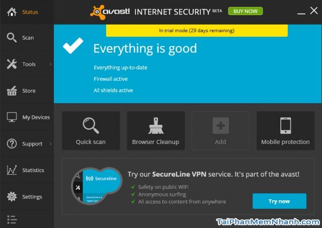 tải phần mềm diệt virus avast