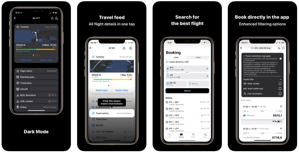App in the Air: Flights Hotels
