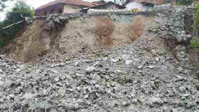 Rubuhnya Talud di Kebumen Diduga Terkait Konstruksi yang Tak sesuai