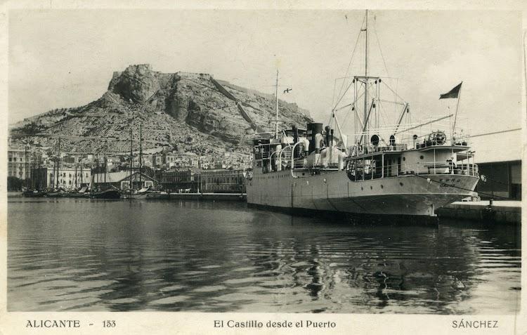 El EBRO, de Pinillos, en Alicante. Fecha indeterminada. Postal.jpg