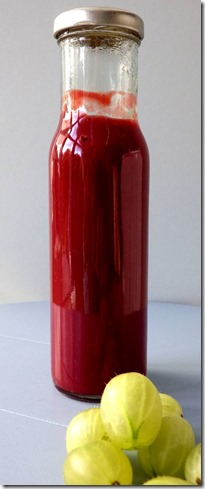 Gooseberry and Beetroot Ketchup
