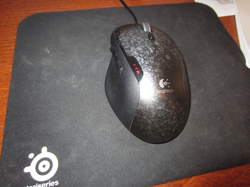 How I fixed my Logitech G500 mouse click problem | Liquid Quartz