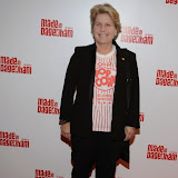 WWW.ENTSIMAGES.COM -   Sandy Toksvig     arriving at     Made In Dagenham - press night at Adelphi Theatre London November 5th 2014Comedy musical based on the hit British film.                                                  Photo Mobis Photos/OIC 0203 174 1069