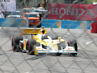 Ryan Hunter-Reay #28 at Honda Grand Prix of St. Petersburg