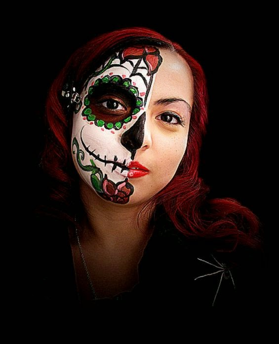 DeviantArt More Like Skull Face Paint II by foxkat
