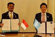 Perkuat Leadership Indonesia, Mentan SYL Teken MoU Dengan FAO