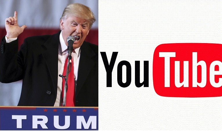 YouTube suspends President Trump's channel for 'a minimum' of one week for violating the site's policy