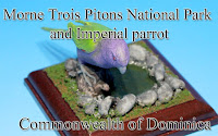Morne Trois Pitons National Park & Imperial parrot -Dominica-
